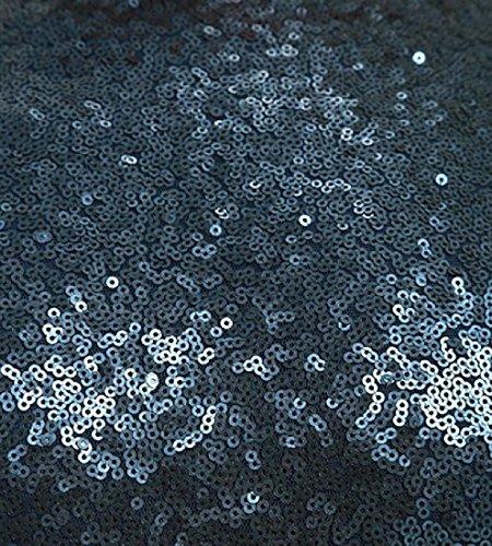 Confortables Femmes Solide Dos Ouvert À Manches 3/4 Paquet Sequin Hanche Robe Pattern2