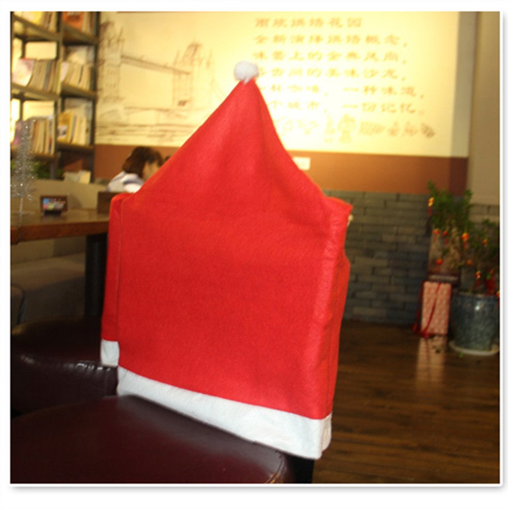 Missley Christmas Non-woven table mats Home table decor House Hotel Restaurant Table covers (chair cover 6, no table cover)