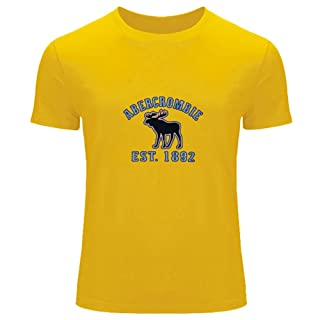 AF Abercrombie Fitch impreso para hombres de la camiseta T Outlet