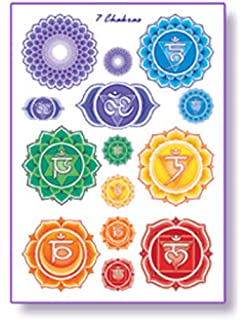 Amazon com: Chakra Healing and Meditation Tattoos: Health