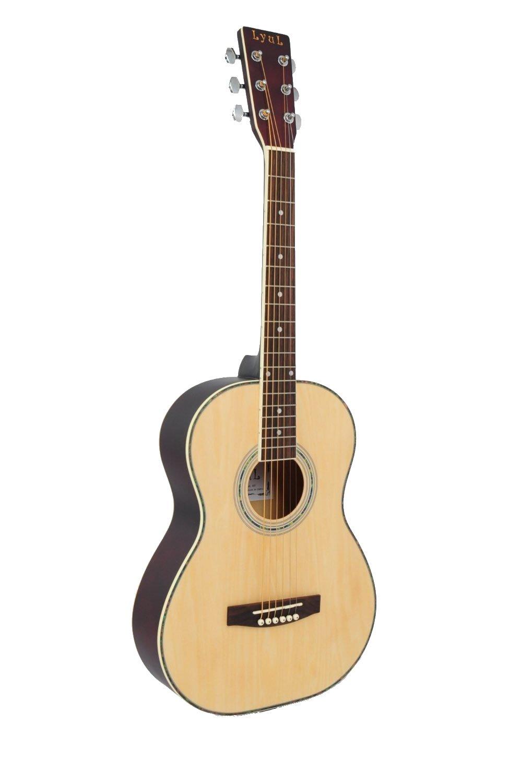 Lyul 3/4 Size Acoustic Premium Guitar Package (Maple)