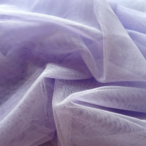 English Net Stretch Mesh Lavender Purple 60 Inches Wide By the Yard