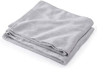 product image for Brahms/Mount Milo Blanket | Cotton - Gray Heather - Queen