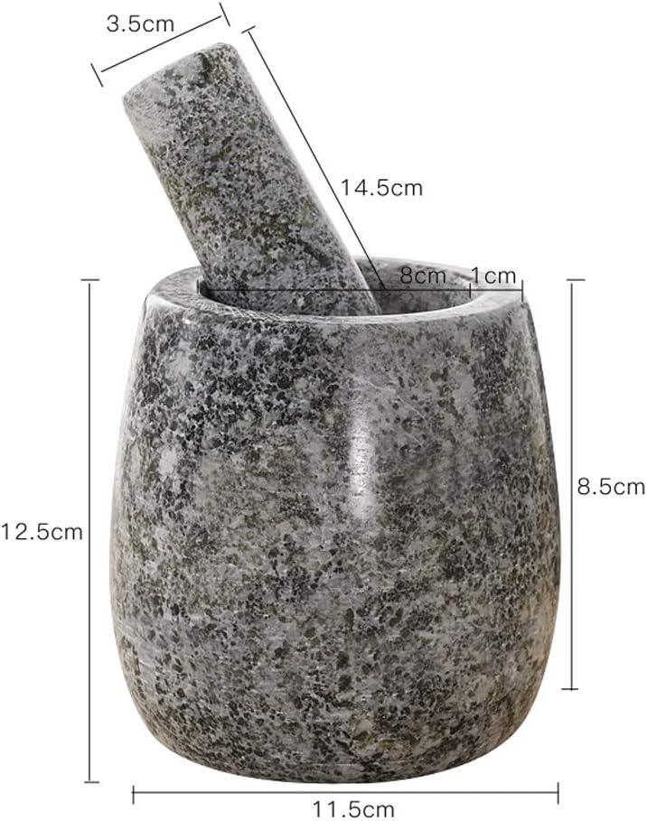 Food Processor/Food Grinder – Mortar And Pestle Spice Grinder Pill Crusher Ginger Garlic Grinder Garlic Presses Household Manual Grinder Natural Marble Is Durable (Color : Style 5)