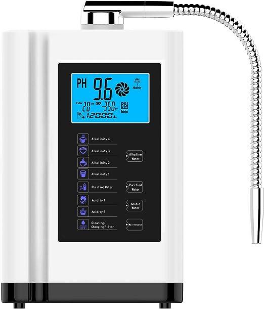 LCD Touch Control Ph 3,5-10.5 Ácido Alcalino Máquina 6000L Filtro ...