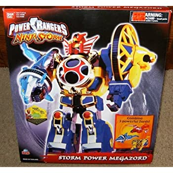 Amazon.com: Power Rangers Ninja Storm Power Megazord Action ...
