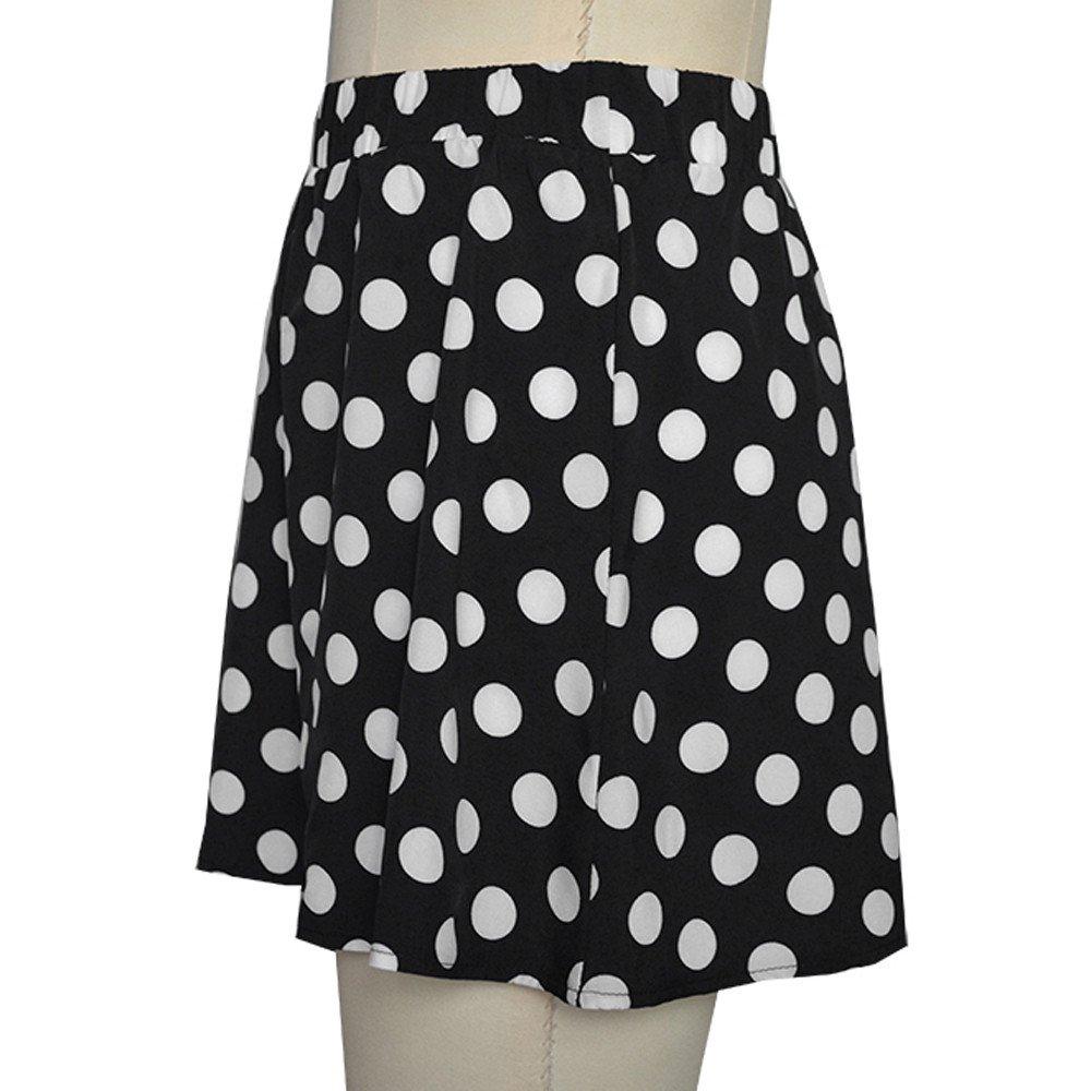 Princess Skirt para Mujer Briskorry Falda con Estampado Casuales de Lunares Moda Faldas Mini Alta Cinturilla Dress Cortas Uniforme: Amazon.es: Ropa y ...