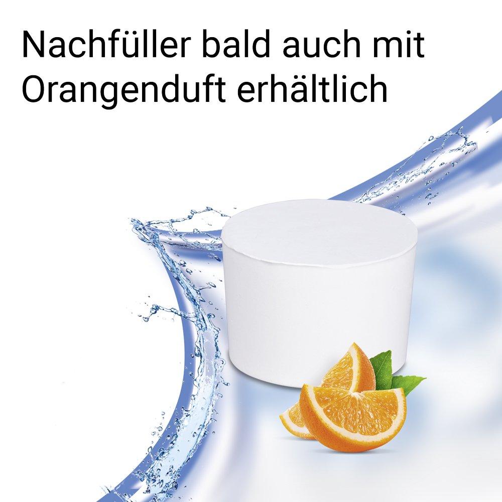 Calciumchlorid wei/ß Wenko 50271100 Design Raumentfeuchter Drop Nachf/üller 1000 g mit Orangenduft Luftentfeuchter Nachf/üllpack /Ø 11 x 7.5 cm