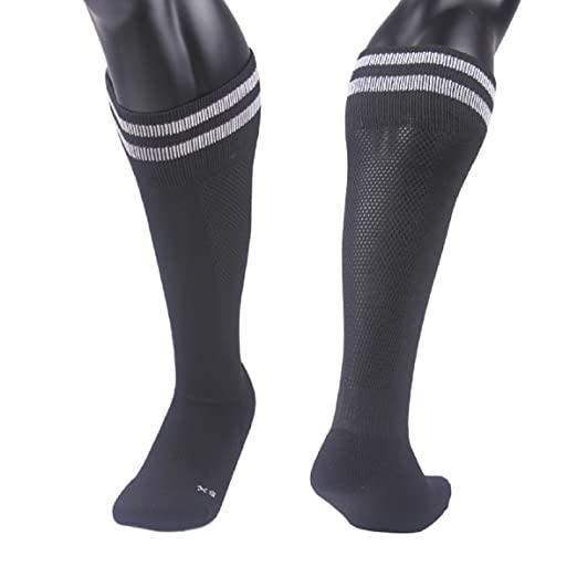 1f82935c2 Lovely Annie Unisex Children 1 Pair Knee High Sports Socks for Baseball  Soccer Lacrosse
