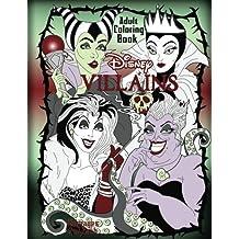 Disney Villains Adult Coloring Book