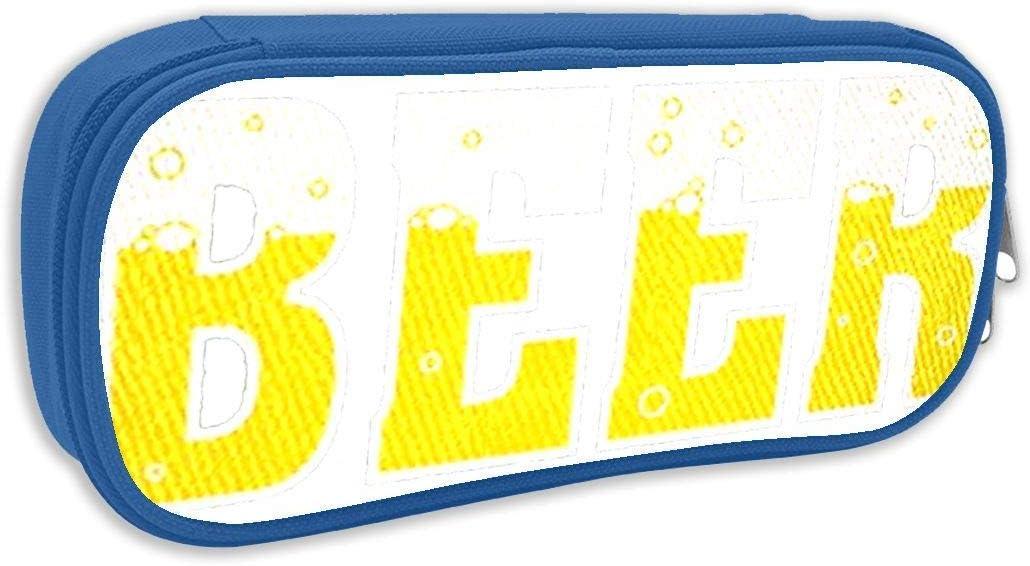 B074W4JK5P.png Pencil Case Capacity Storage Bag Holder Desk Pen Pencil Marker Stationery Organizer Pencil Pouch with Zipper for Office: Amazon.es: Oficina y papelería