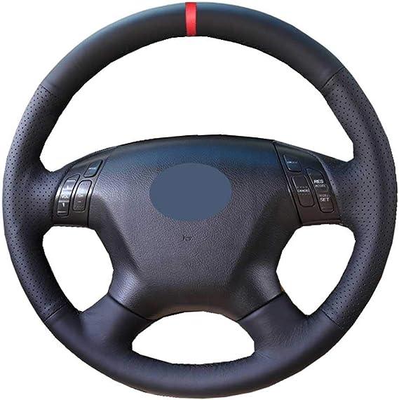 XQRYUB Auto Lenkrad Wrap rutschfest, fit für Honda Elysion ...
