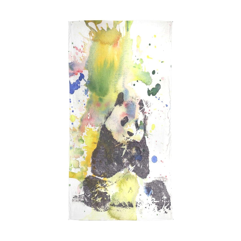 WDYSECRET Panda Silk Light Printing Custom Scarves for Women 70.86x35.4(in)