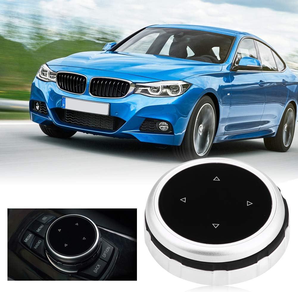 Boutons multim/édia couvrent console de voiture int/érieure centrale de voiture de Boutons d/écoratifs de cadre de couverture d/écoratifs 7 Button Style2