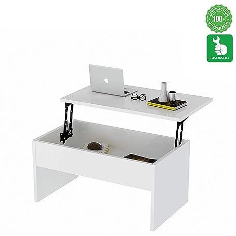 Amazon.com: Evomax - Mesa de café de diseño moderno para ...