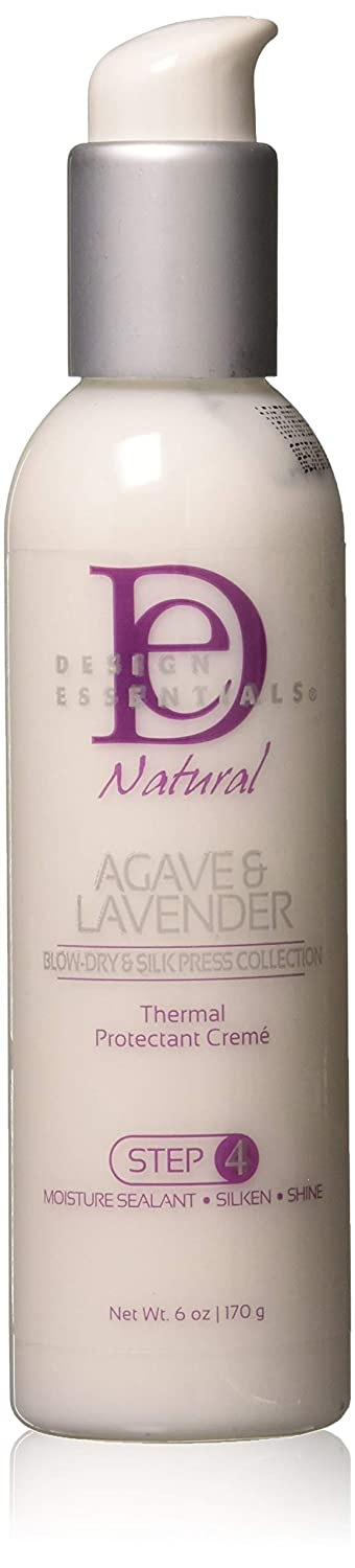 Design Essentials Natural agave & lavanda Thermal protectant creme 170, 1 gram (step 4)