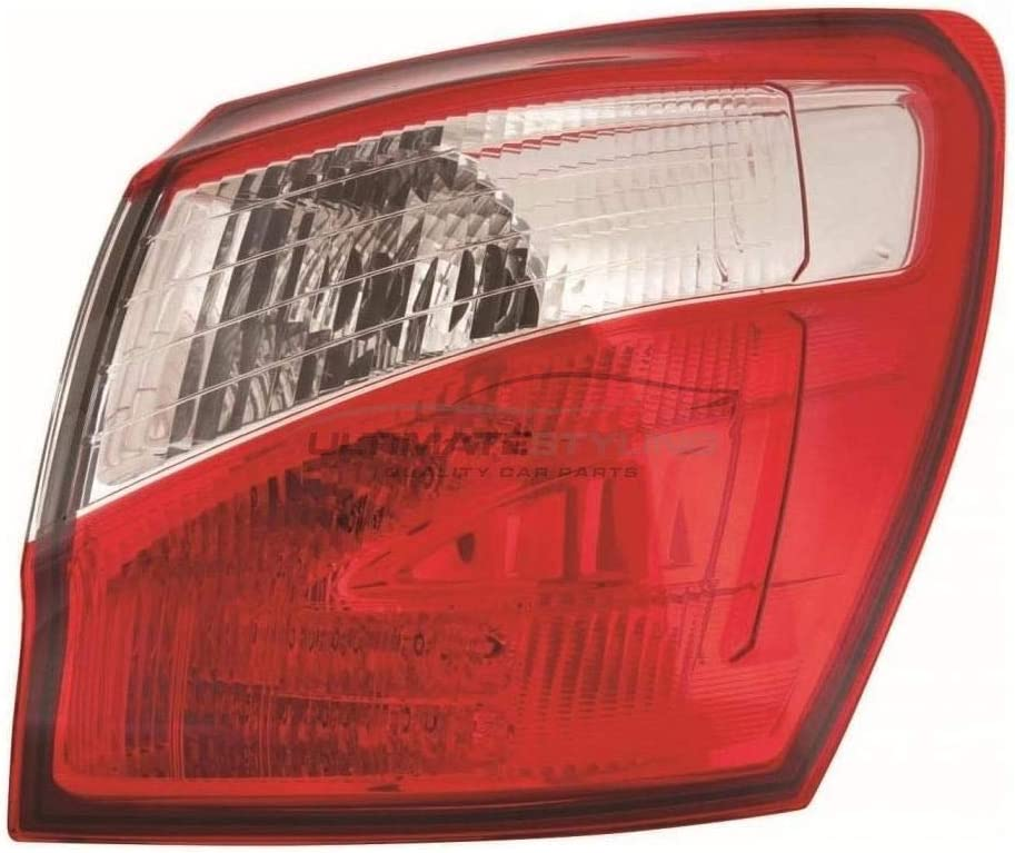 s Ultimate Styling Aftermarket LED Rear Outer Wing Tail Light Lamp Without Bulb Holder Bulb Type Reference OE//OEM Number s 26550-BR00A RH LED PY21W Side Of Product Drivers Side
