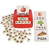 Literacy Fun Game Matching Letter Game, 60 Flash Cards English Word Spelling Memory Puzzle Board Sight Words Preschooler…