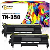 Toner Bank 2 Pack TN350 Compatible for Brother TN 350 Brother HL-2030 2030R 2040 2070N 2070NR 2045 2075N, DCP-7020 7010 7010L 7025, IntelliFax-2820 2825 2850 2910 2920, MFC-7220 7225N 7420 7820 7820N