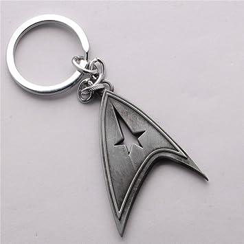 Amazon.com: Nueva llegada aleación de Star Trek clave Cadena ...