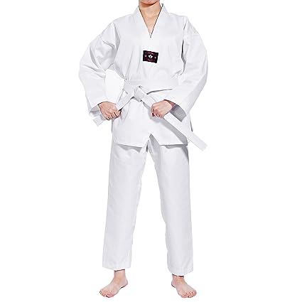 Traje de Karate de algodón para niños, principiantes, Kimono ...
