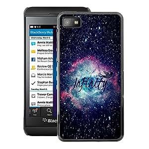 A-type Arte & diseño plástico duro Fundas Cover Cubre Hard Case Cover para Blackberry Z10 (Infinity Universe Science Astronomy)