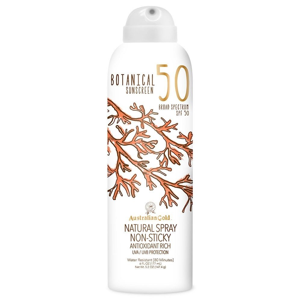 Australian Gold Botanical Sunscreen Mineral Lotion, Broad Spectrum, Water Resistant, SPF 70, 6 Ounce