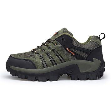 CAI Zapatos de Senderismo para Hombre 2018 Primavera/Otoño Mens Zapatos de Senderismo de Gran tamaño al Aire Libre Hombres Antideslizante/Viaje / Senderismo ...