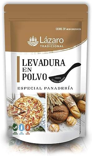 Lázaro Levadura Especial Panadería 100 g: Amazon.es: Alimentación y bebidas
