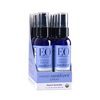 Eo Hand Sanitizer Spray Organic French Lavender 2 Ounce Pack Of