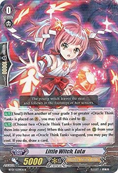 Cardfight!! Vanguard TCG - Little Witch, LuLu (BT07/039EN) - Rampage of the Beast King by Cardfight!! Vanguard TCG: Amazon.es: Juguetes y juegos