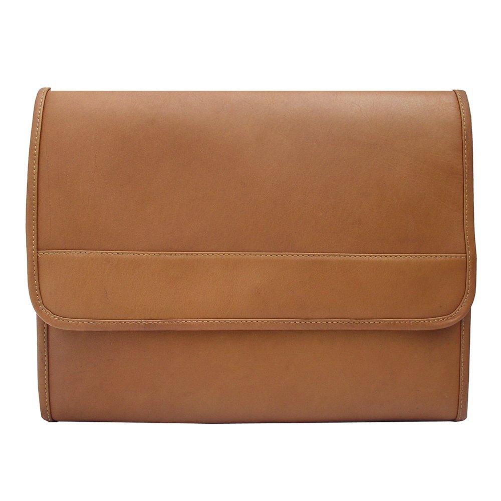 Piel Leather Envelope Portfolio, Saddle, One Size