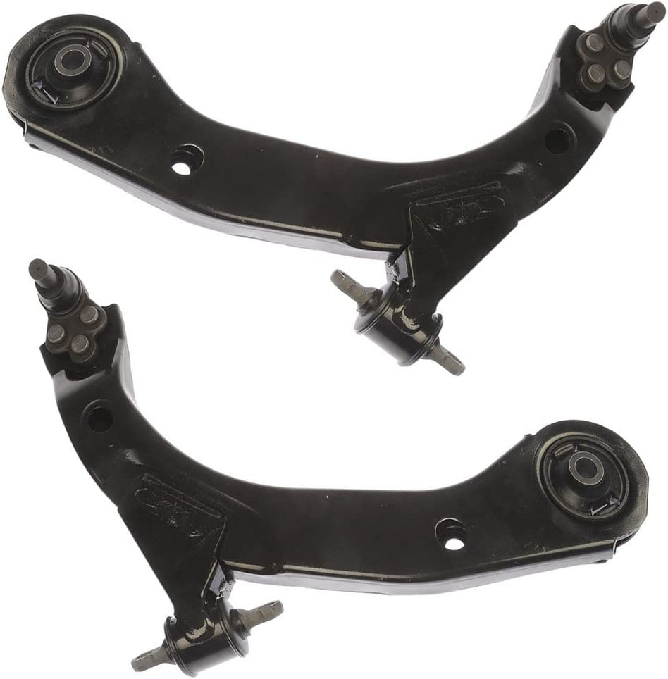 Both 2 - Pursuit 2 Fits Non Turbo 11.8 Inch Center to Center Both New 4pc Kit Front Sway Bar Links Cobalt - ION - G5 - New Front Lower Control Arms /& Ball Joint Assembly HHR