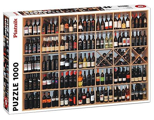 Piatnik of America, Inc. 1,000-Piece Wine Gallery Puzzle