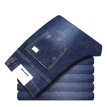 YFCTASPX Pantalones Vaqueros para Hombres Pantalones de ...