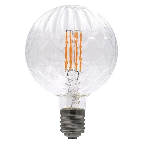 Laes 985825 Bombilla Globe Piña Filamento LED E40, 8 W, 150 x 215 mm