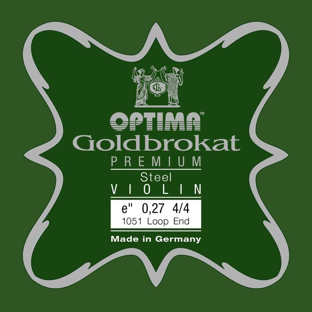 OPTIMA Goldbrokat Premium Violin E1 0.27 Loop End 4//4