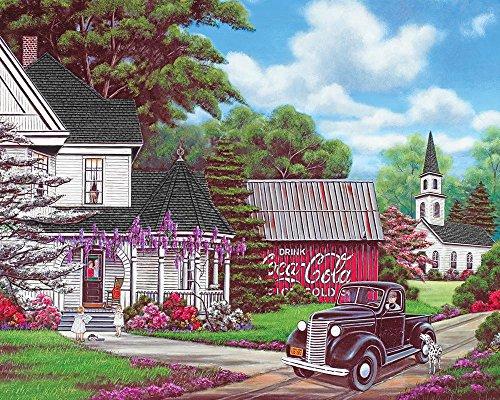 coca cola puzzle 1000 pieces - 9