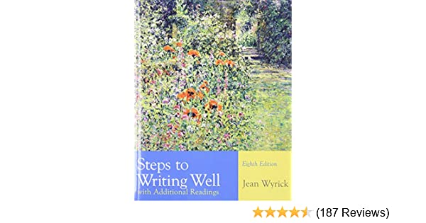 Amazon steps to writing well with additional readings amazon steps to writing well with additional readings 9781428292055 jean wyrick books fandeluxe Choice Image