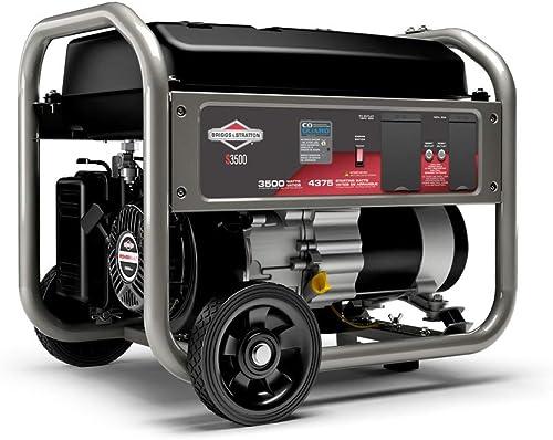 Briggs & Stratton S3500 3500W CARB Compliant Portable Generator