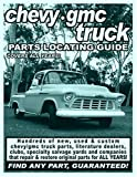img - for Chevy / GMC Truck Parts Locating Guide book / textbook / text book