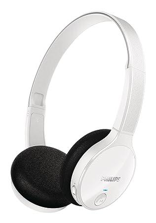 Philips Shb4000wt Casque Audio Bluetooth Sans Fil Avec Micro
