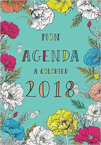 Agenda à colorier 2018 (agenda, coloriage, art-thérapie ...
