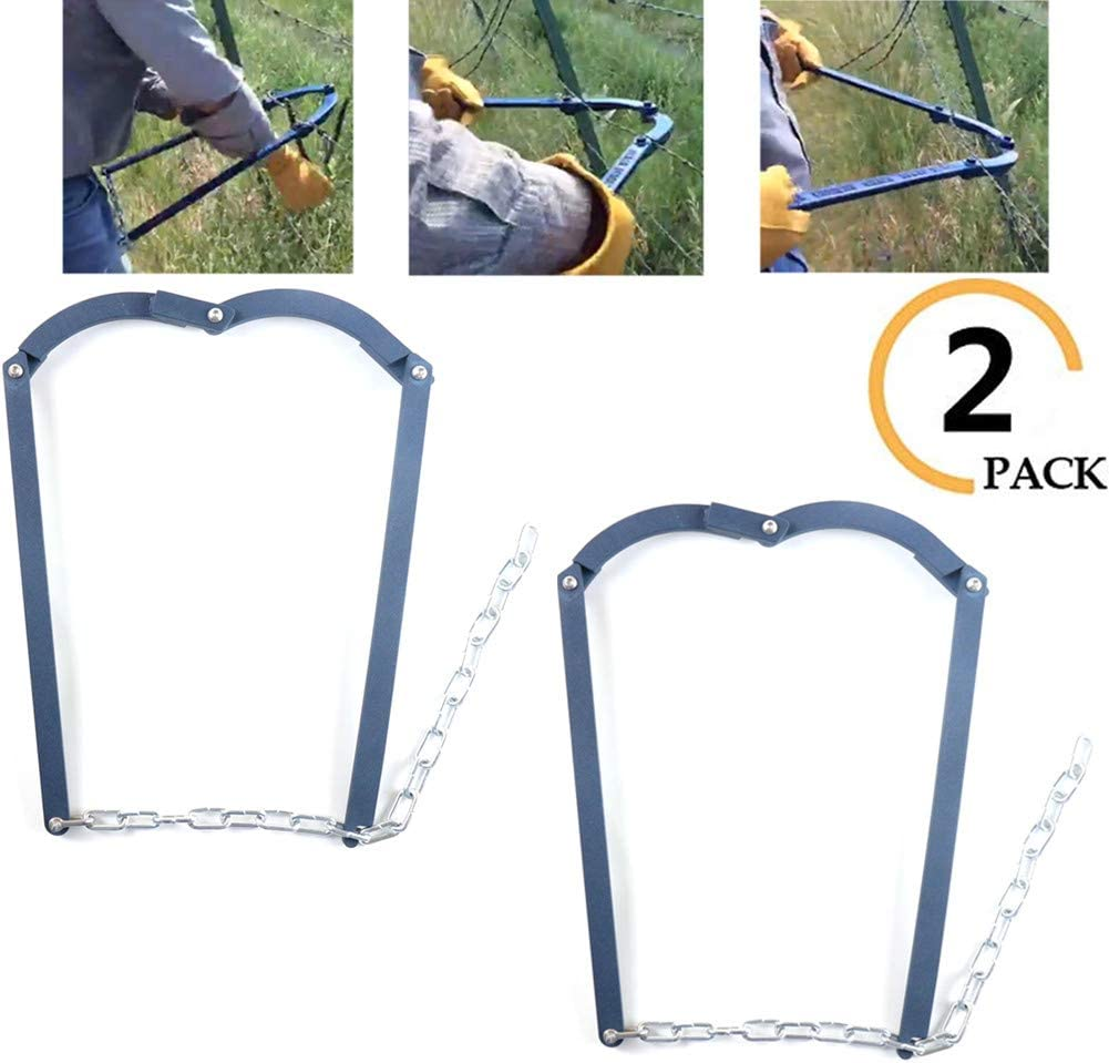 RanchEx 102571 Wire Stretcher with Ratchet Control for Releasing Fence Tension
