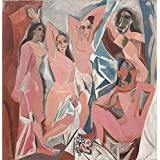 Canvas Prints Of Oil Painting ' Les Demoiselles D' Avignon, C.1907 ' , 30 x 31 inch / 76 x 79 cm, High Quality Polyster Canvas Is For Gifts And Gym, Hallway And Nursery Decoration, pop