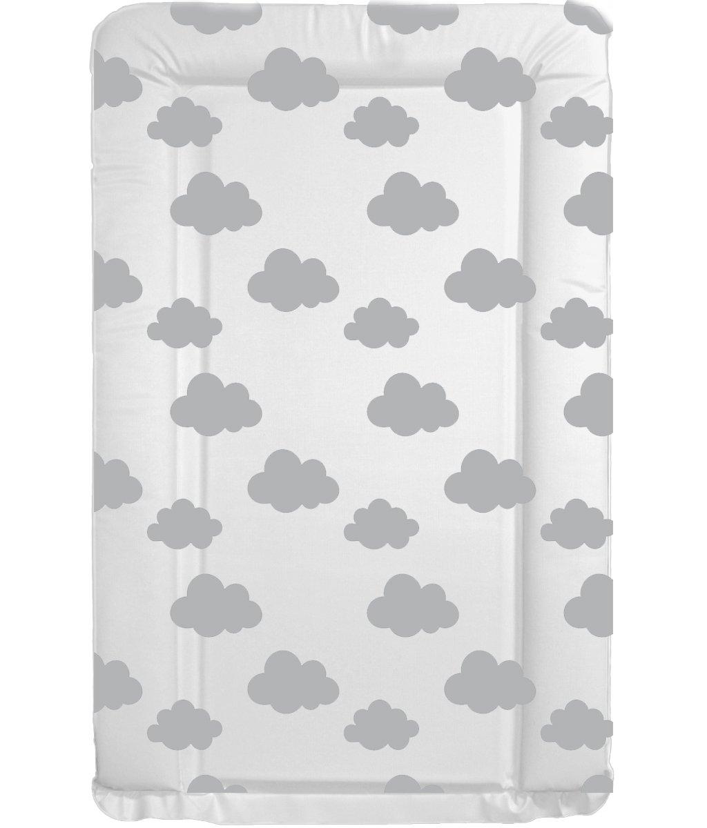 de calidad unisex Cambiador de tela para beb/és con los bordes doblados y con un dise/ño /único de jirafas /único de colores gris y blanco. impermeable