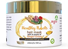 Aegte Healthy Roots Hair Growth Mask with 2X power of Ginger - Onion 200ml