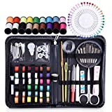 : Sewing Kits for Adults, Tensun Small Sewing Kit for Beginners, Travel, Home, Office, Camping & Emergency, 115 Sewing Supplies Mending Kit Accessories with Notions Thread, Scissors & Needle