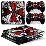 GoldenDeal PS4 Pro Console and DualShock 4 Controller Skin Set - Umbrella - PlayStation 4 Pro Vinyl