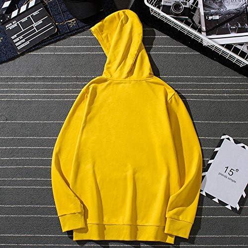 Hoodies Mode Pullover Kapuzenpullover Langarm Sweatshirt Pullover C-XXL